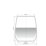 Bicchieri RCR, Invino RCR Bicchiere acqua 37 cl 6pz