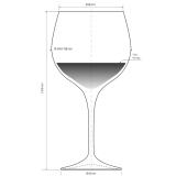 Bicchieri RCR , Invino RCR Calice vino rosso 67.6 cl 6pz