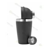 Offerte per Barman, Linea Economy Shaker cobbler 50 cl Nero Opaco