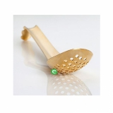 Accessori per Barman Lotus Spoon forato dorato 16,5 cm