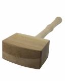 Accessori Ghiaccio Martello per ghiaccio in legno naturale