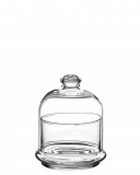 Decorazione Guarnizione Mini coppetta con cupola in vetro 22 cl