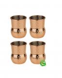 Mug , Mini mug per shot color rame 6 cl 4pz