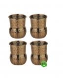 Mug , Mini mug per shot color rame antico 6 cl 4pz