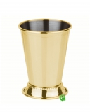 Mug , Mint Julep Cup decorata oro 38 cl