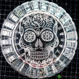 Mixing Glasses , Mixing Glass RCR Combo Mexican Skull Seamless 650 ml