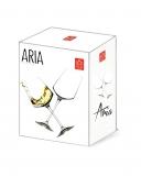 Bicchieri da Vino e Acqua personalizzati, Modello Art Nouveau Calice Vino bianco Cristallo RCR 46 cl 2 pezzi