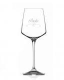 Bicchieri Personalizzati Singoli Modello Cuori Calice Vino bianco Cristallo RCR 46 cl 1 pezzo