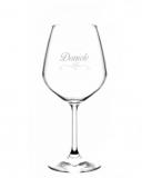 Bicchieri Personalizzati Singoli Modello Cuori Calice Vino rosso 52.5 cl 1 pezzo