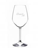 Bicchieri Personalizzati Singoli Modello Floreale Calice Vino bianco 44.5 cl 1 pezzo