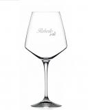 Bicchieri Personalizzati Singoli Modello Floreale Calice Vino rosso Cristallo RCR 79 cl 1 pezzo