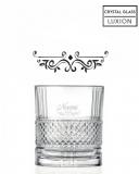 Bicchieri Personalizzati Singoli Modello Vittoriano Bicchiere whisky in cristallo 34 cl 1 pezzo