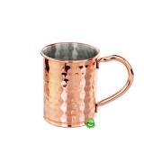 Mug , Moscow mule martellata cilindrica rame 40 cl
