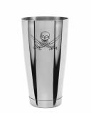 Ultimi in Stock Shaker Boston Bilanciato Premium Mixing Tin 900 ml Teschio del Pirata