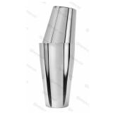 Shakers Boston, Shaker Boston con bicchiere acciaio inox non bilanciato Made in Italy