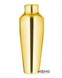 Shakers Parisienne, Shaker Parisienne Mixing Narrow oro lucido 600 ml