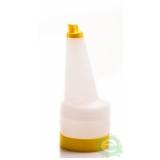 Store'n Pour & Dispenser, Speed bottle 0,5 lt con tappo Giallo