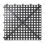Bar Mat e Tappetini, Tappetini sottobicchieri bar componibile 30,5 x 30,5 cm nero