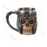 Mug , Tazza Skull con teschio 40 cl