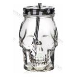 Bicchieri da Cocktail, Tiki Mug Teschio in vetro 45 cl