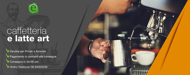 Caffetteria e latte art